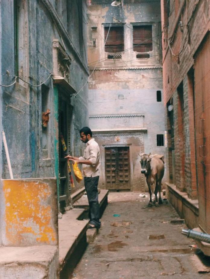 Return from Work (Banaras 2014)