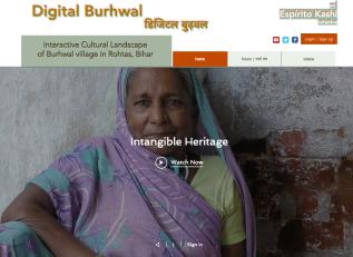 Interactive Cultural Landscape of Burhwal village in Rohtas,Bihar
